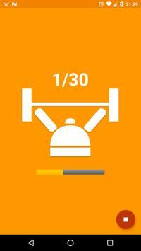 Workout Beeper apk screenshot