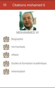 Citations mohamed 6 poster