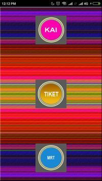 Tiket Kereta Apps New poster