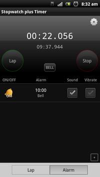 Stopwatch plus Timer screenshot 1