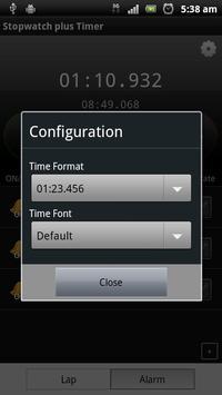 Stopwatch plus Timer screenshot 2