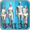 BMI 3D - Body Mass Index and body fat in 3D ícone