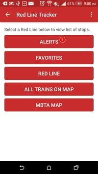 MBTA Red Line Tracker screenshot 4
