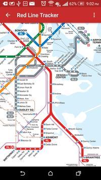 MBTA Red Line Tracker screenshot 6