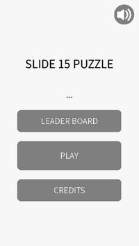 SLIDE 15 PUZZLE poster