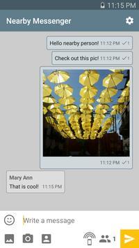 Nearby Messenger apk screenshot