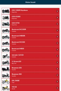 Suzuki Motos screenshot 7