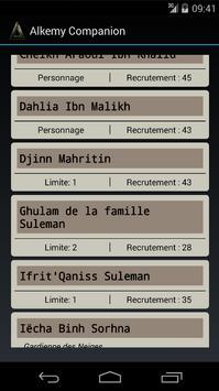Alkemy - BiG Companion screenshot 2