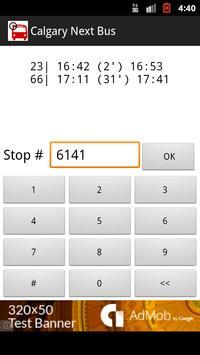Calgary Next Bus via SMS screenshot 2