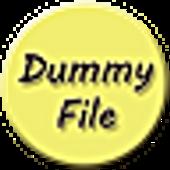 Dummy file creator icon