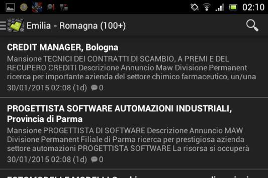 Lavoro Blog - Offerte Lavoro apk screenshot