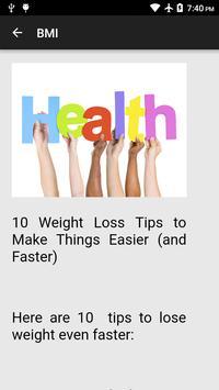 Body Mass Index (BMI) screenshot 2