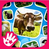 Kids Learn Farm Animals icon
