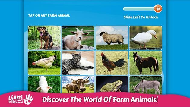 Kids Learn Farm Animals poster