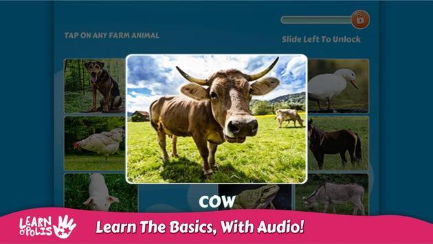 Kids Learn Farm Animals screenshot 1