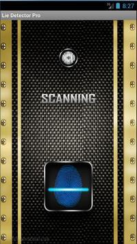 Lie detector scanner Prank apk screenshot