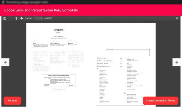 Ebook Gemilang screenshot 5
