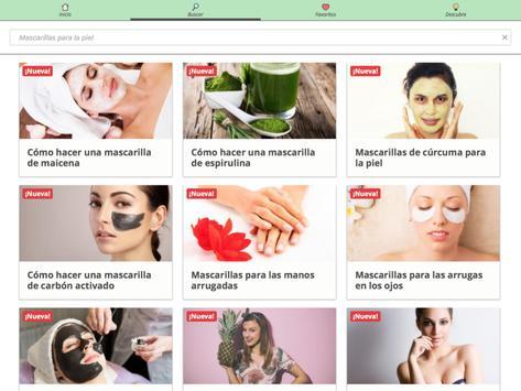 Mascarillas caseras de belleza screenshot 13