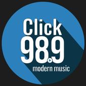 Click 98.9 icon