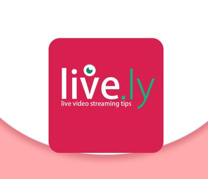 Tips Live.ly Video Streaming poster