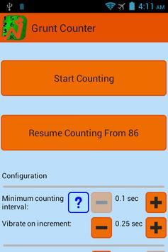 Grunt Counter screenshot 2