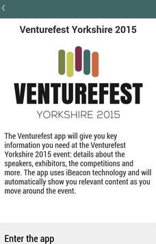 Venturefest Yorkshire 2015 poster
