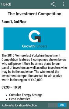 Venturefest Yorkshire 2015 apk screenshot