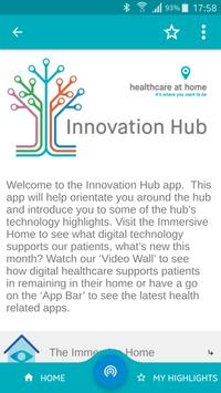 Healthcare at Home Innovation Hub poster