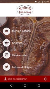 Kraliy-Et Köfte & Steak apk screenshot