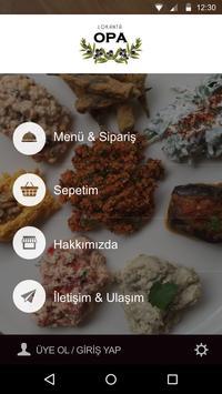 Lokanta Opa apk screenshot