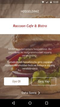 Raccoon Cafe & Bistro screenshot 1