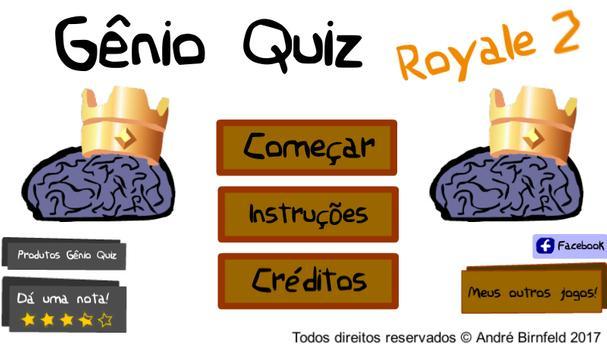 Genius Quiz Royale 2 poster