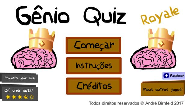 Genius Quiz Royale poster