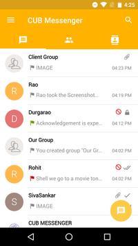 CUB Secure Messenger (Unreleased) screenshot 1