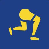 Legs workout - 4 Week Program icon