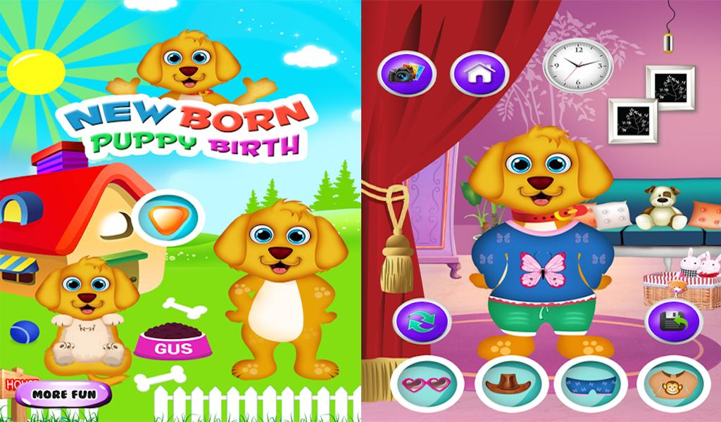 Juegos Cachorro Recién Nacidos For Android Apk Download