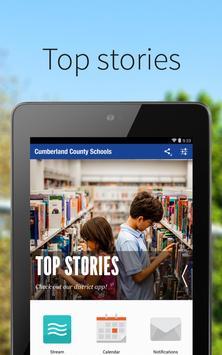 Cumberland County Schools poster