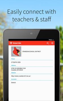 Crandon School District screenshot 1