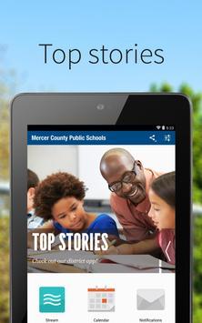 Mercer County Public Schools poster