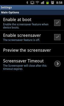 Winter Dream Live Screensaver apk screenshot