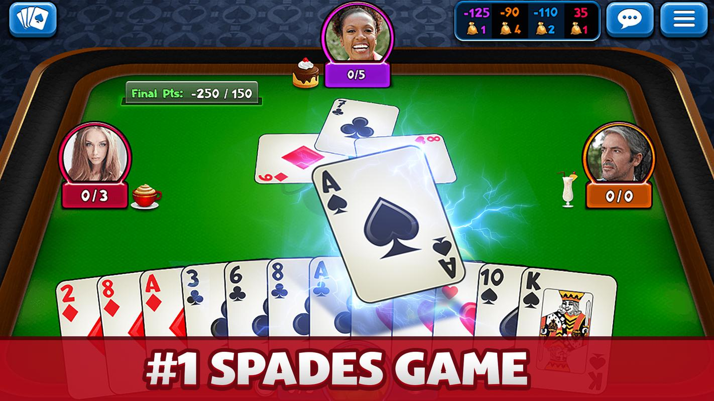 Play Spades For Money Online