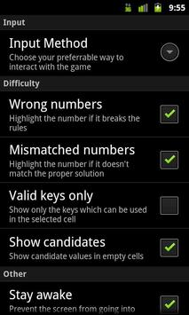 PG SuDoKu apk screenshot