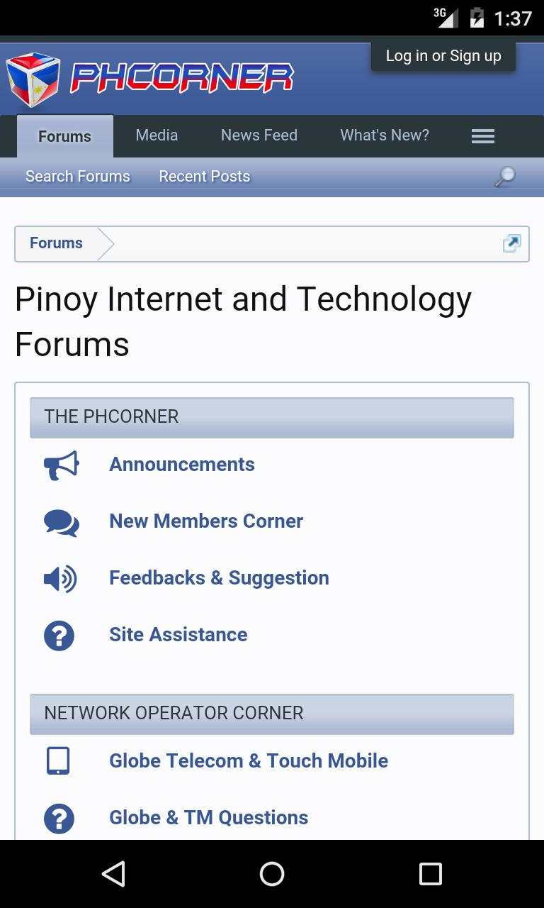 PHCorner Pinoy Forums for Android - APK Download