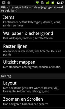 Lightning Launcher  Nederlands apk screenshot