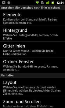 Lightning Launcher - Deutsch apk screenshot