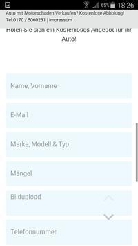 Auto Ankauf ! PKW Verkaufen ! apk screenshot