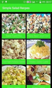 Simple Salad Recipes poster