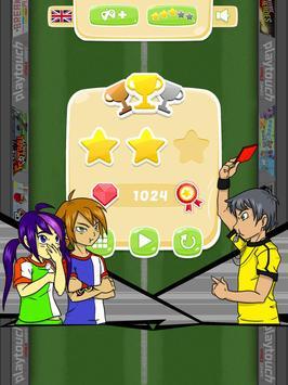 Yuki and Rina Football apk screenshot