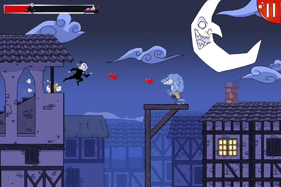 Dracula Quest: run for blood ! for Android - APK Download