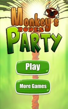 Monkey's ropes party apk screenshot
